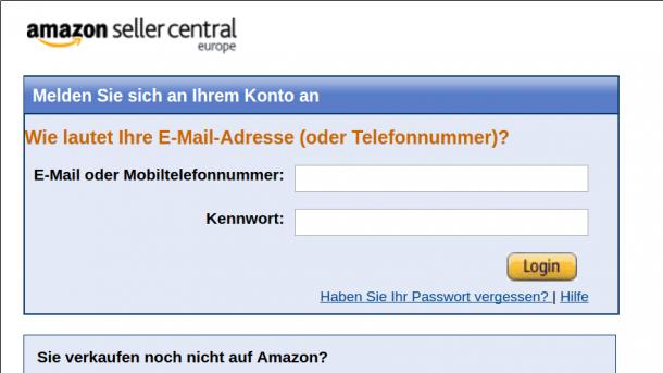 Angebliche Amazon Rechnungen Entpuppen Sich Als Phishing Heise Online