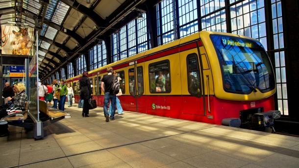Berlin: Millionen-Programm für Videoüberwachung in S-Bahnen