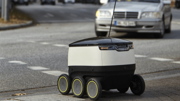 Hermes testet Lieferroboter in London