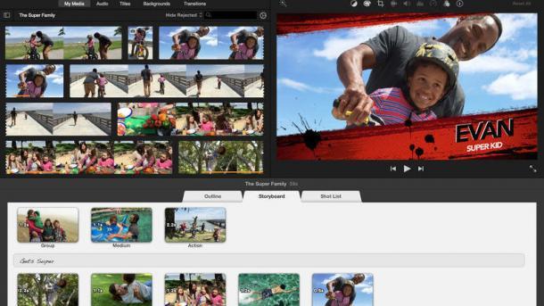 Apple aktualisiert Videoproduktionsprogramme