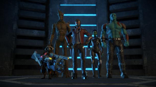 Guardians of the Galaxy: The Telltale Series angespiel - Helden mit kleinen Fehlern