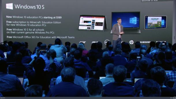 Microsoft will mit Windows 10 S die Schulen zurück erobern