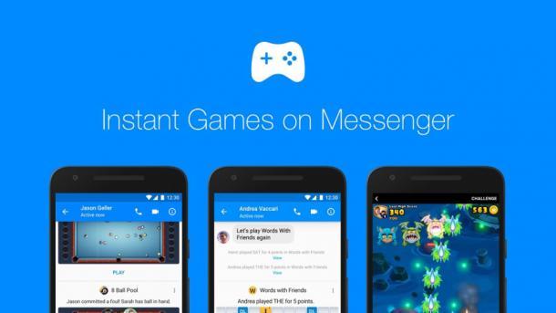 Instant Games: Daddeln im Facebook-Messenger