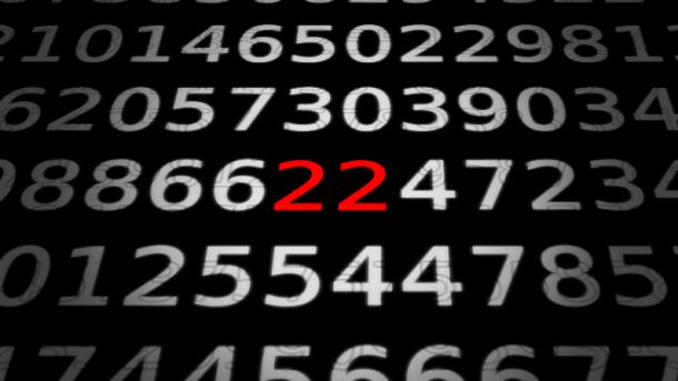 Zahlen, bitte! 22 Stunden pro Woche online