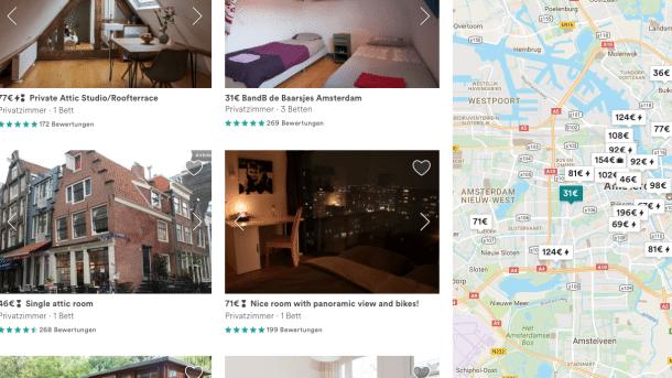 Amsterdam verschärft Regeln für Airbnb