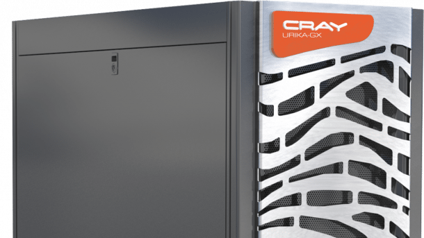Cray: Supercomputing as a service
