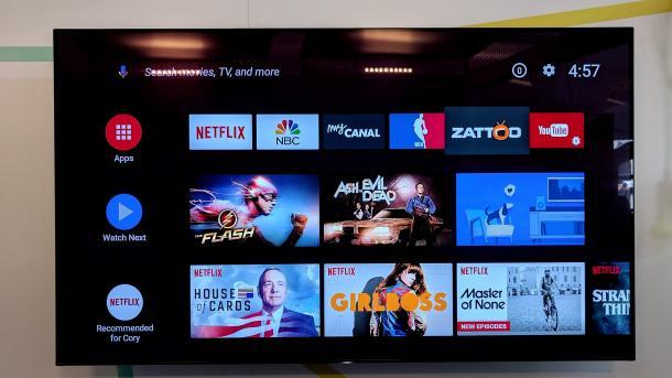 Android TV bekommt eine neue Oberfläche und den Google Assistant