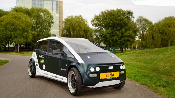 Elektroauto aus Biomaterial