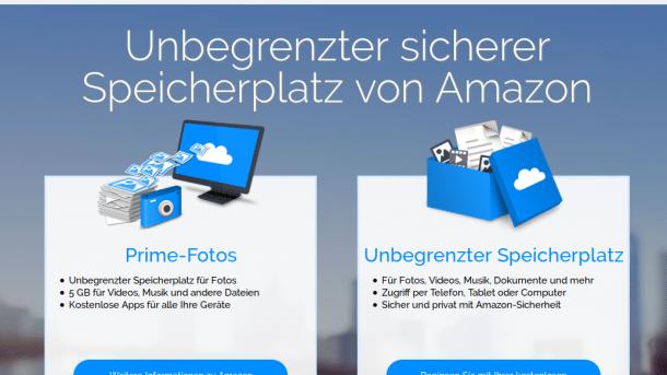 Amazon Drive sperrt Drittanbieter-Clients