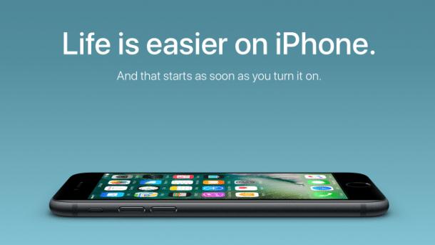 Apple startet neue Switcher-Kampagne – für Android-User