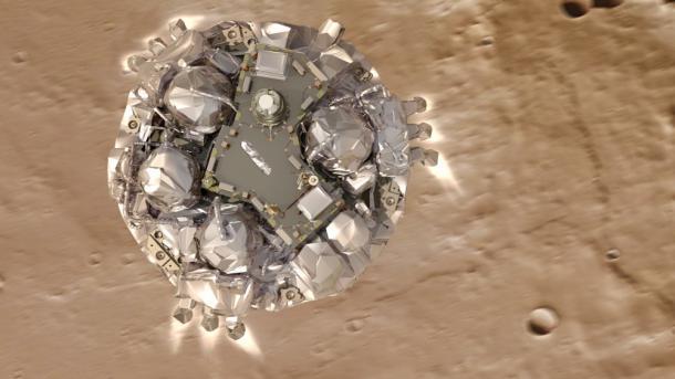 ExoMars: Mars-Sonde Schiaparelli nach Computerfehler abgestürzt