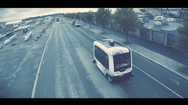 Helsinkis RoboBusLine wird reguläres Angebot