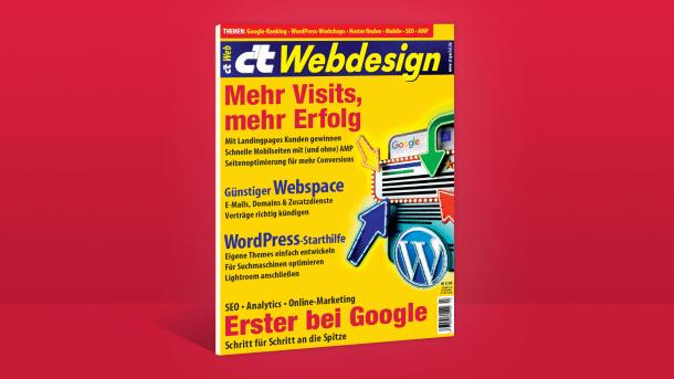 c't Webdesign: Mehr Visits, mehr Erfolg