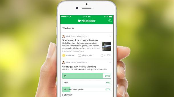 Hallo Nachbar! Nextdoor startet in Deutschland