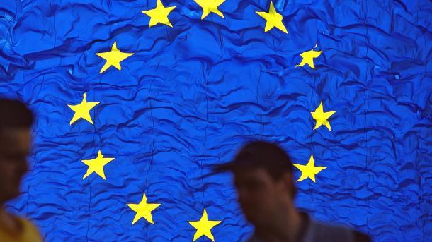 EU, Menschen, Verbraucher, Flagge
