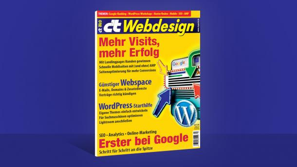 c't Webdesign: Erster bei Google (mit SEO)