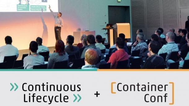 Programm von Continuous Lifecycle und ContainerConf 2017 steht online
