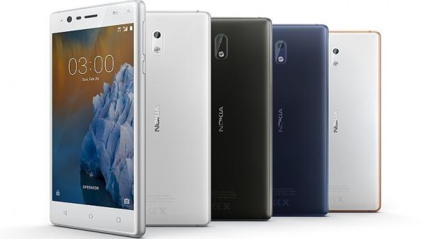 Nokia-Smartphone 3 ab kommender Woche im Handel
