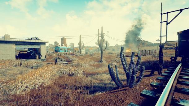 Playerunknown's Battlegrounds: Screenshots der neuen Wüstenkarte