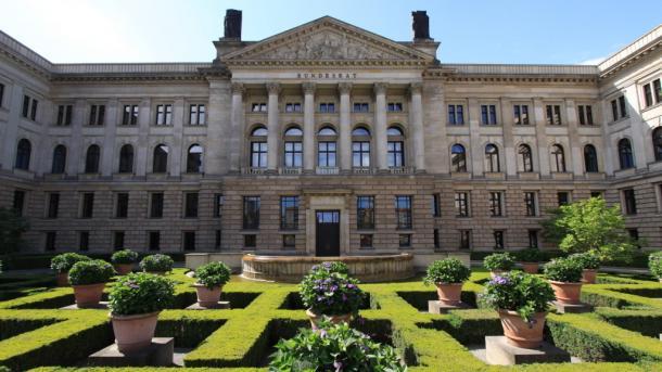 Gebäude des Bundesrats in Berlin Au0enansicht