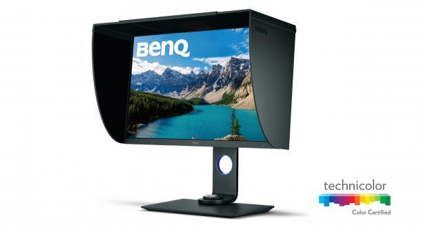 BenQ SW271: Professionelles 10-Bit-Display mit 4K und HDR