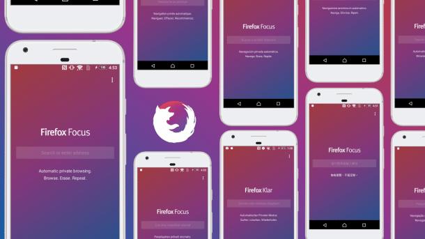 Firefox Klar: Eine Million Downloads, drei neue Funktionen