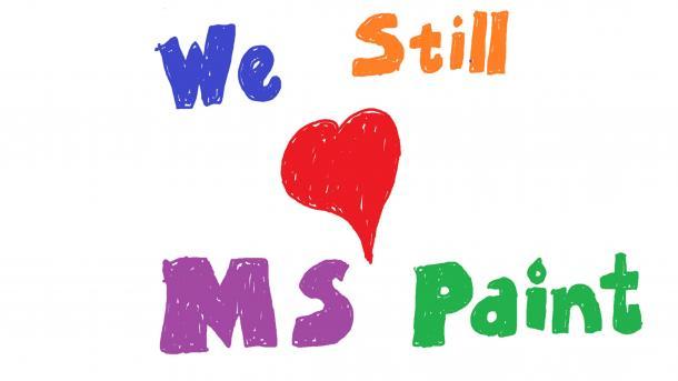 MS Paint darf im Windows Store weiterleben
