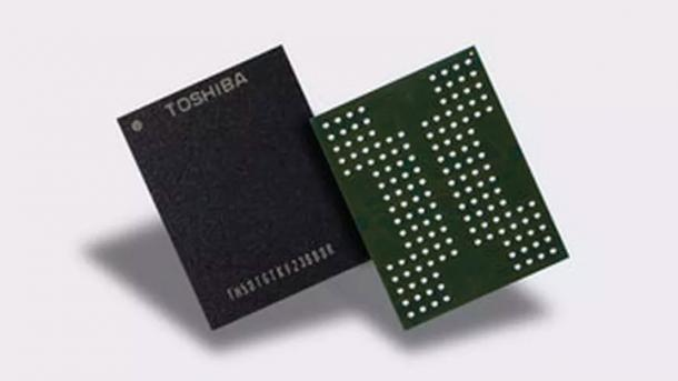 Toshiba: Neuer QLC-Flash so haltbar wie TLC