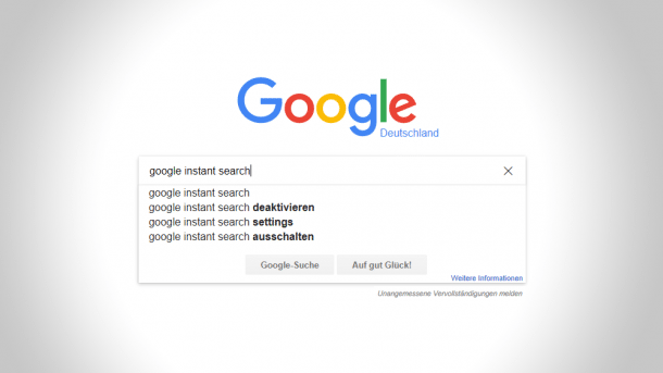 Google schaltet Instant Search ab
