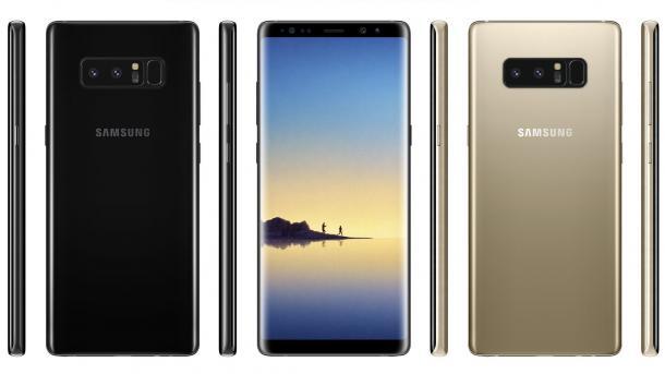Galaxy Note 8: Gerüchte-Check zum Samsung-Smartphone