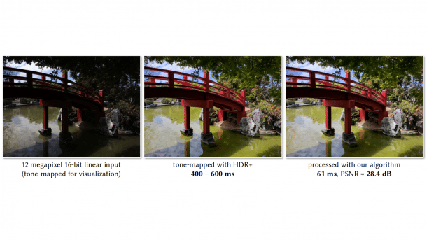 KI retuschiert Smartphonefotos in Echtzeit