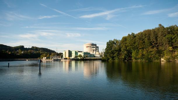 Schweizer Atomkraftwerk nahe deutscher Grenze zum Teil abgeschaltet