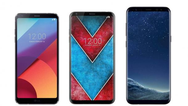 Smartphone V30: LG bestätigt gebogenes OLED-Display mit großem Farbraum