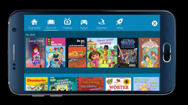 Amazon FreeTime: Kinder-Angebot jetzt auch für Android verfügbar