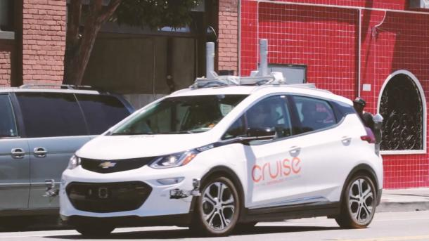 GM-Tochter Cruise Automation testet autonome E-Taxis