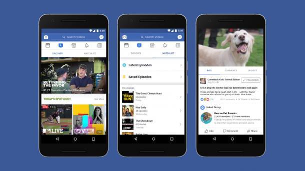 Facebook Watch: Konkurrenz für YouTube?