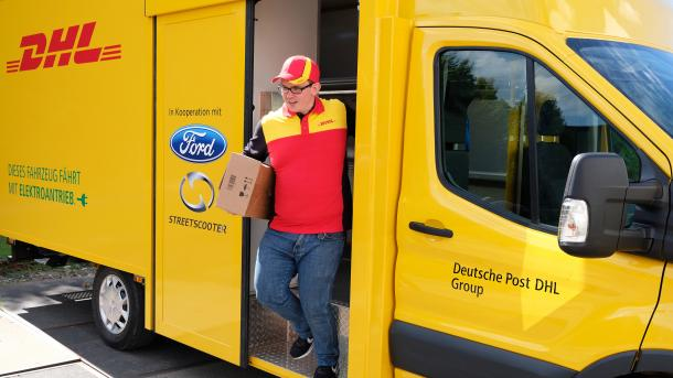 StreetScooter Work XL: Deutsche Post und Ford stellen Elektro-Lkw vor