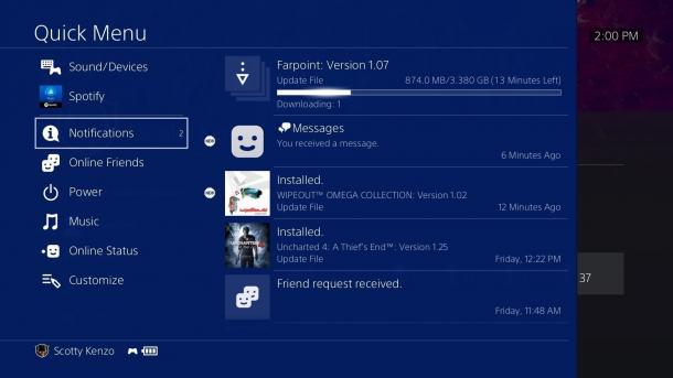 PlayStation 4: Sony liefert Firmware-Version 5.00 an Tester aus