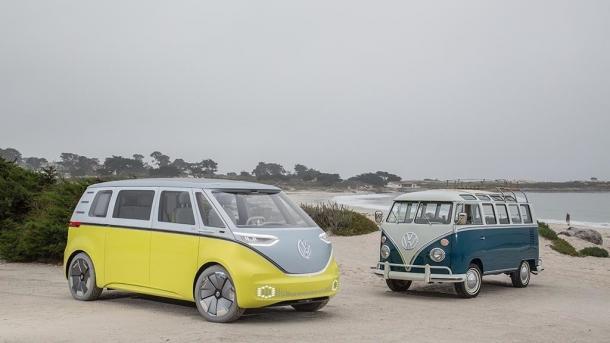 VW will den Elektro-Bulli I.D. Buzz in Serie bauen