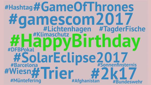 #HappyBirthday: Das Hashtag wird zehn