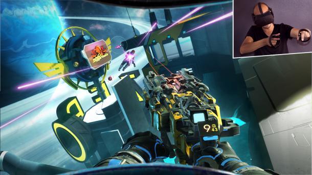 Space Junkies VR angespielt: Da kommt was Feines angeflogen