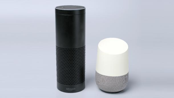 Amazon Echo, Google Home