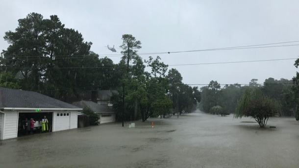 """Klimaforscher über Hurrikan Harvey: """"Solche Katastrophen nehmen zu"""""""