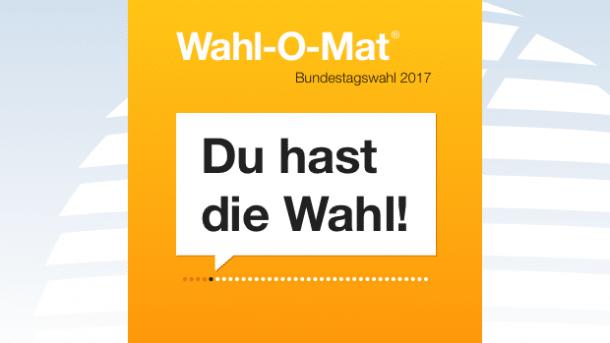Wahl-O-Mat 2017 geht heute online