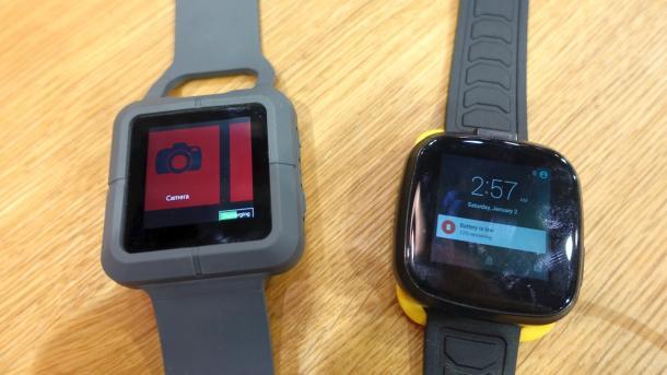 Trekstor zeigt wasserdichte Business-Smartwatch mit Windows und Kamerafunktion