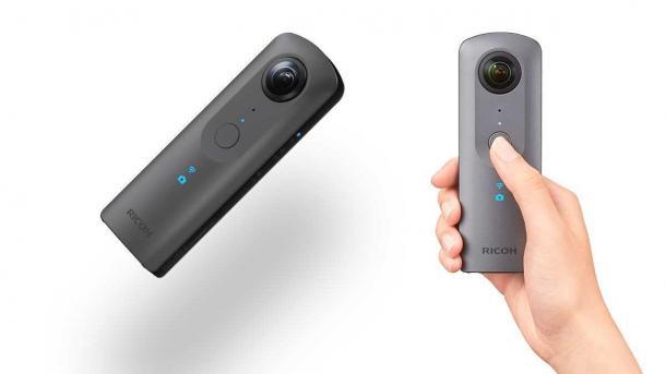 360-Grad-Kamera Ricoh Theta V ausprobiert: Deutlich bessere Videoqualität