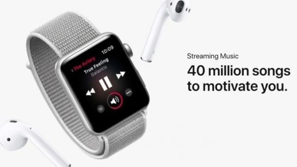 Apple Music am Handgelenk braucht noch ein Weilchen