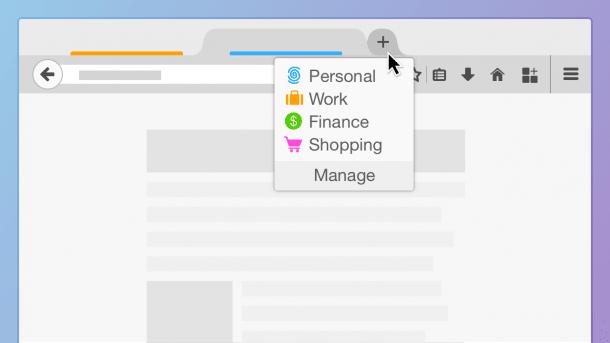 """Firefox-Add-on """"Multi-Account Containers"""" trennt Online-Identitäten"""