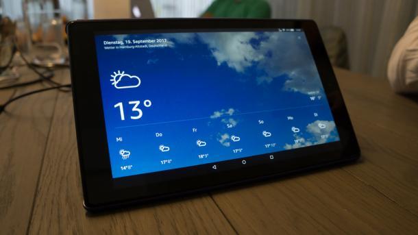 Neues Fire-HD-Tablet: bessere Ausstattung, niedrigerer Preis, Alexa integriert