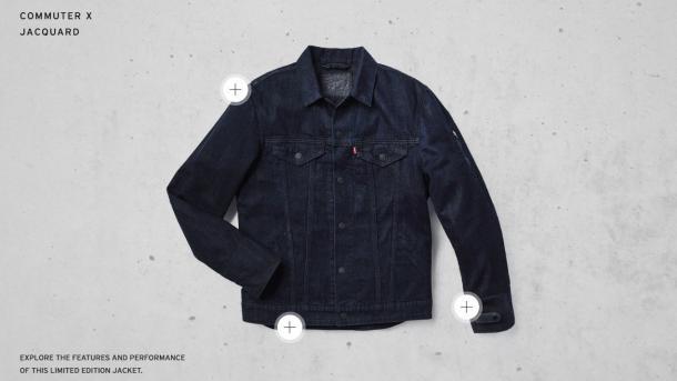 Schlaue Jeansjacke von Levi's und Google erhältlich